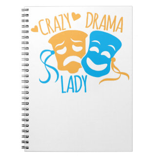 Crazy DRAMA Lady Notebooks