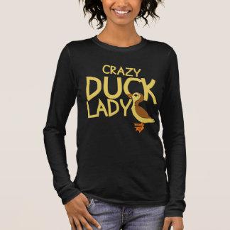 Crazy Duck Lady Long Sleeve T-Shirt