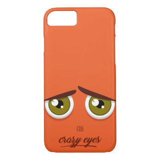 Crazy eyed Cole iPhone 8/7 Case