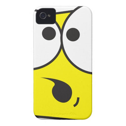 Crazy Face iPhone 4 Cover