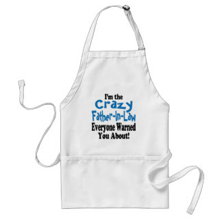Crazy Father-in-Law Aprons
