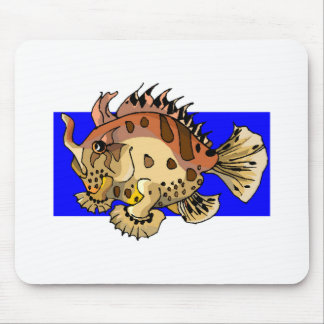 Crazy Fish Mousepad