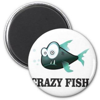crazy fish yeah magnet
