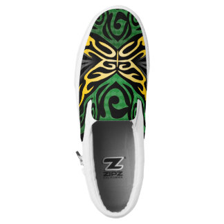 Crazy Flag #111 Slip On Shoes