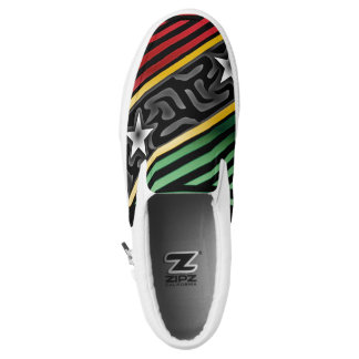 Crazy Flag #188 Slip On Shoes