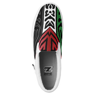 Crazy Flag #82 Slip-On Shoes