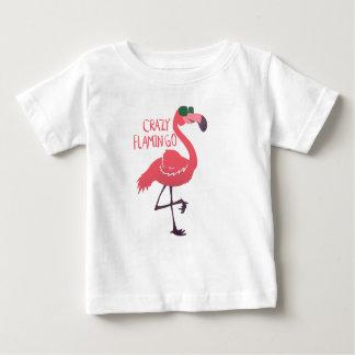 Crazy flamingo baby T-Shirt