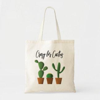 Crazy for Cactus Tote Bag