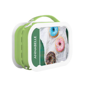 Crazy for Donuts | Personalized Lunch Box