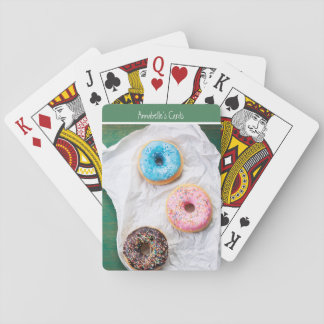 Crazy for Donuts | Personalized Playing Cards