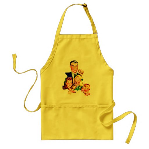 CRAZY FOR HOT DOGS APRON