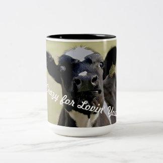 Crazy for Lovin' You... Two-Tone Coffee Mug