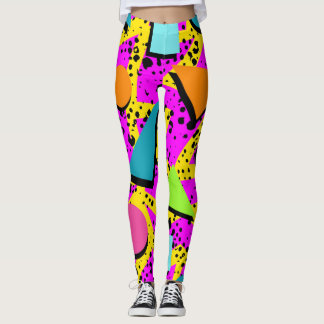 Crazy For the 80s Leggings