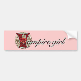 Crazy for Vampires Bumper Stickers