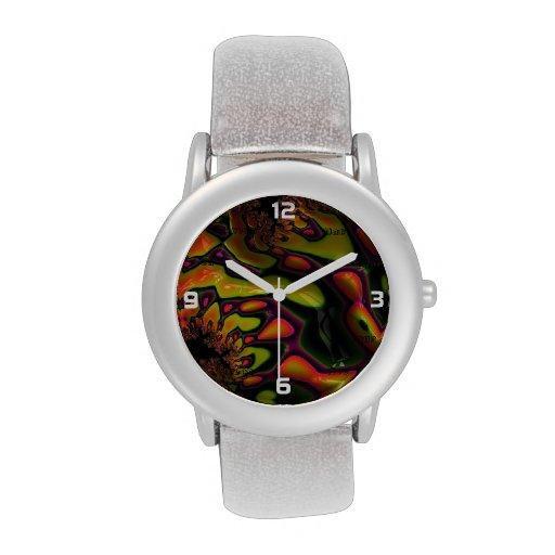 Crazy Fractal Wristwatch