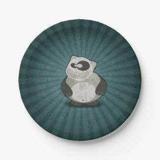 Crazy Fun Panda 7 Inch Paper Plate