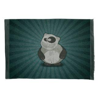 Crazy Fun Panda Pillowcase