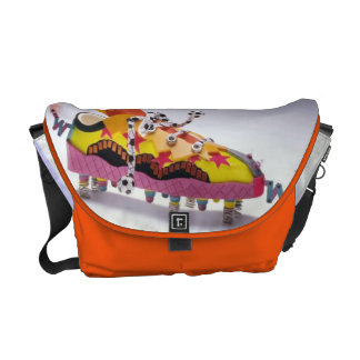 crazy funny walking shoes purse courier bags