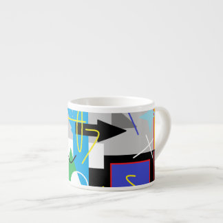 Crazy Geometry Funky Mug