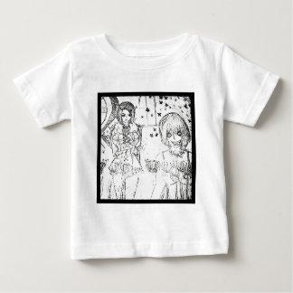 crazy girl and insane lovely girl baby T-Shirt