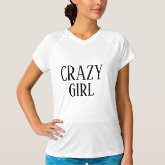 Crazy Girl fashion T-Shirt