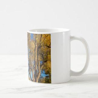 Crazy Golden Tree Sky Coffee Mug