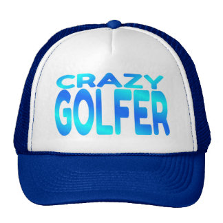 Crazy Golfer Mesh Hats