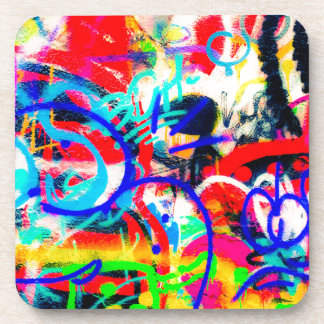 Crazy Graffiti Drink Coaster