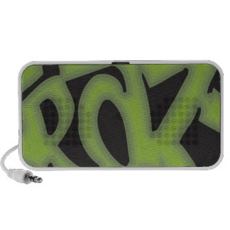 Crazy - Graffiti Mini Speakers