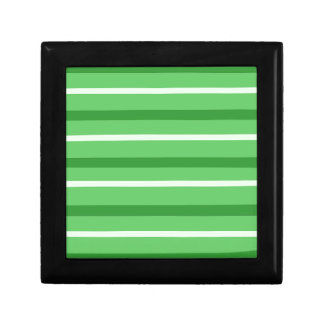 Crazy Green Stripes Gift Box