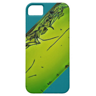 crazy green unique iphone line art word powerful g barely there iPhone 5 case