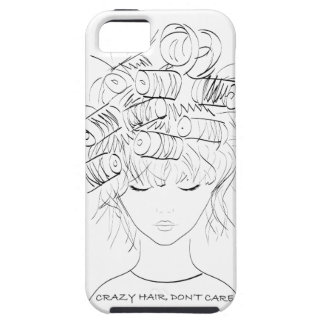Crazy Hair, Don't Care iPhone 5 Covers