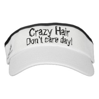Crazy Hair Don't Care Day Knit Visor