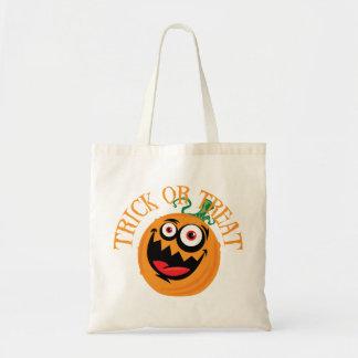 Crazy Halloween Pumpkin Trick Or Treat Bag