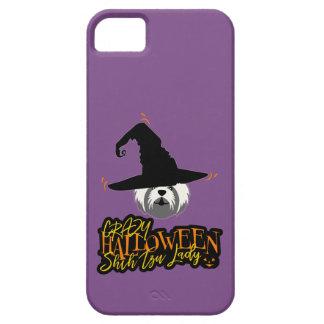 Crazy Halloween Shih Tzu Lady Shih Tzu Mom iPhone 5 Cover