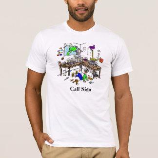 Crazy Ham Shack  Ham Radio T-Shirt