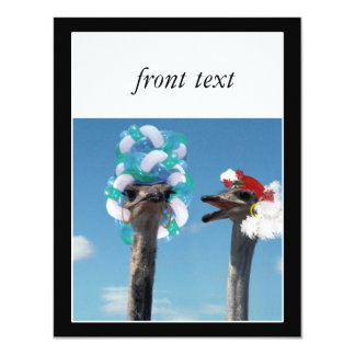 Crazy Hat Day at the Races 11 Cm X 14 Cm Invitation Card