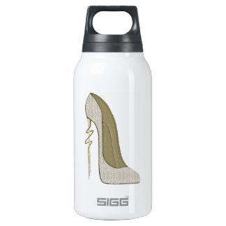 Crazy Heel Lace Stiletto Shoe Art 0.3 Litre Insulated SIGG Thermos Water Bottle