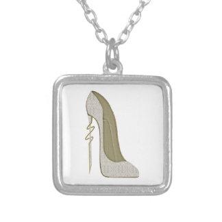 Crazy Heel Lace Stiletto Shoe Art Custom Jewelry