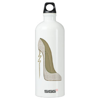 Crazy Heel Lace Stiletto Shoe Art SIGG Traveller 1.0L Water Bottle
