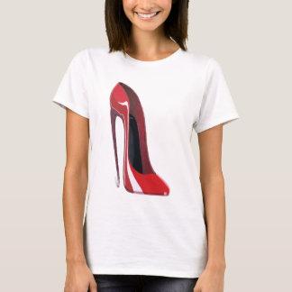 Crazy heel red stiletto shoe art T-Shirt