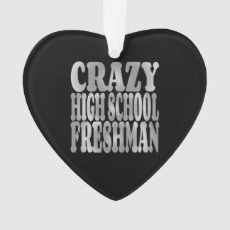 Crazy High School Freshman in Silver