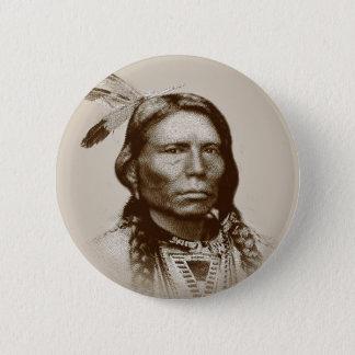 Crazy Horse 6 Cm Round Badge