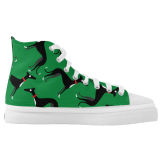 Crazy Hounds Printed Shoes