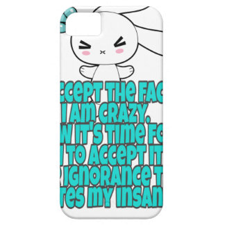 Crazy Humor sarcasm Case For The iPhone 5