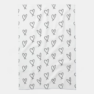 Crazy in love tea towel