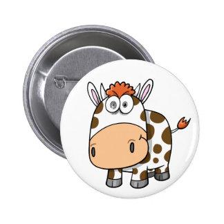 Crazy Insane Cow Button