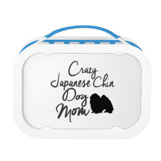 Crazy Japanese Chin Dog Mom Lunch Box