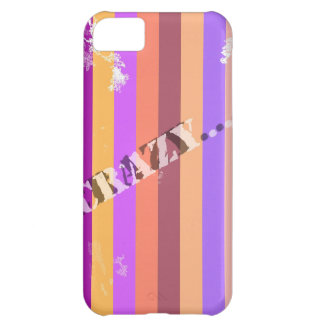 Crazy.jpg iPhone 5C Case