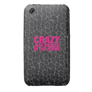 Crazy Just Walked iPhone 3 Case